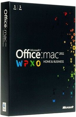 Microsoft Office MAC 2011 Home & Business