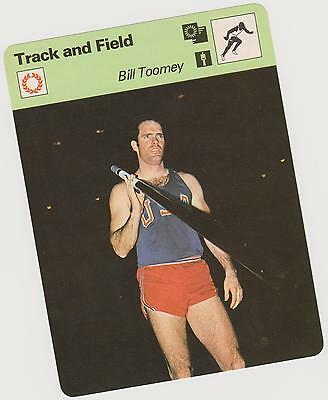 1979 Bill Toomey Sportscaster Card #85-03 A Printing Mint From Cello Deck