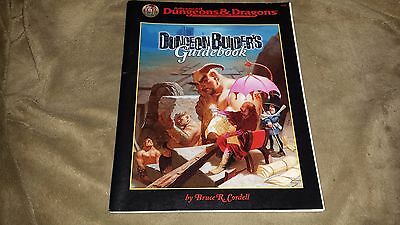 Dungeons and Dragons Dungeon Builder's Guidebook (Soft Cover) TSR 9556