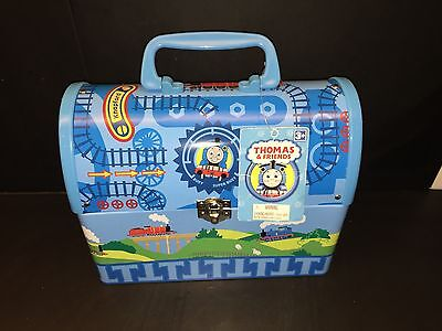 Thomas & Friends Dome Shaped Metal Lunch Box - Schylling Rare and Hard to Find