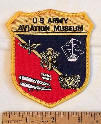 US Army Aviation Museum Fort Rucker Ozark Alabama AL Souvenir Embroidered Patch