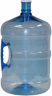 5 Gallon Water Bottle Storage BPA FREE Portable Liquid Container Easy Holder NEW