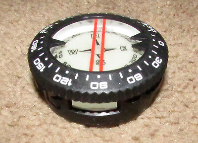 Scuba Diving Compass - Generic, Lightly Used - Spg Console Gauges Replacement