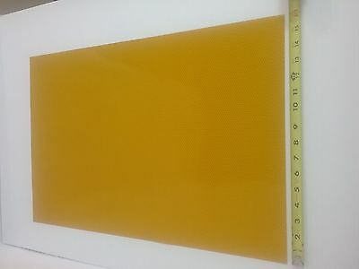 """[[YELLOW REFLECTIVE]] Vinyl Material, 1 Sheet approximately 16"""" L x 24"""" W"""