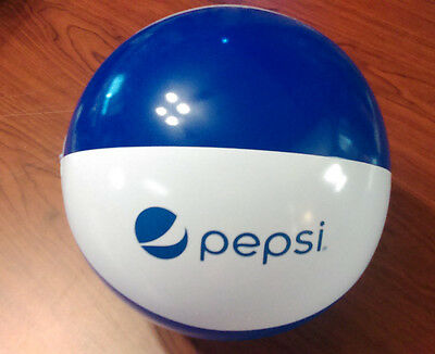 """Pepsi 8"""" Beach Ball Inflatable Blow Up Brand New!!!"""