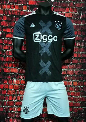 New 2016-2017 Ajax Amsterdam away Soccer Jersey set football shirt suit tee