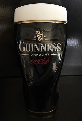 Guinness Draught Pub Bar Font - Working Light / Adapter - Excellent Condition