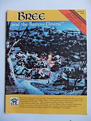 BREE AND THE BARROW DOWNS, MERP, MIDDLE EARTH, ROLEMASTER, LotR, J.R.R. TOLKIEN