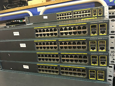 Cisco WS-C2960-24TC-L 24 Port 10/100 w/ 2 x SFP 2960 Series Switches