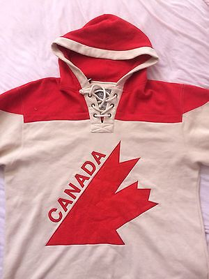 1976 Olympic Team Canada Old Time Hockey Sweater Jersey XL