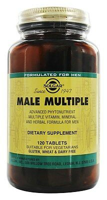 Solgar Male and Female Multivitamin 120 tablets