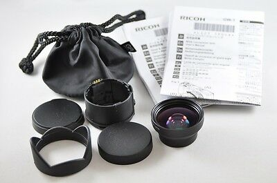 [Exc⁺⁺] RICOH GW-1 0.75x Wide Conversion Lens with GH-1  for Ricoh GR DIGITAL