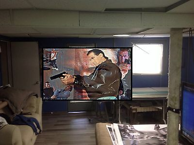 BIG! 44x30 Steven Seagal Vinyl Banner Poster ART. Above The Law Hard To Kill