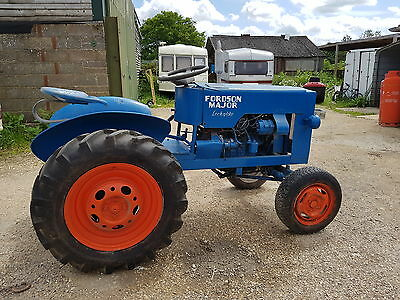 Tractor - MINI Fordson Major look 'a' like Home Made 3rd size petrol