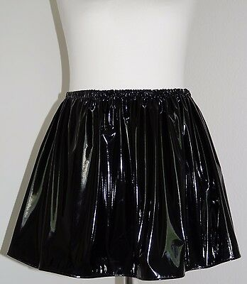 Lack-Rock Mini Gr.48/50/52/54/56 - PVC-skirt mini UK 24,26,28,30 US 2X,3X,4X