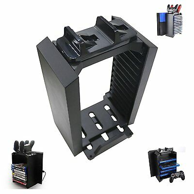 New Charger Game Storage Console Tower for PlayStation 4