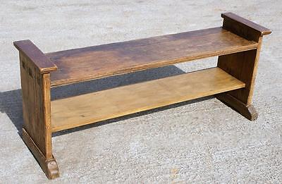 A GOOD FRENCH MID 19th CENTURY PINE BENCH