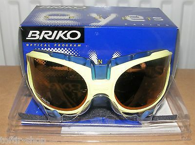 RARE Vintage BRIKO ZEN Sports CYCLING Sunglasses LIME Nos BNIB Pantani Pro Team