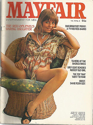 mayfair volume 10 number 5 mens adult glamour magazine penny irving