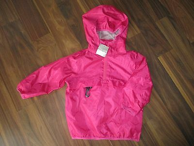 Girls NEXT pink cagoule jacket coat 18-24 months NEW