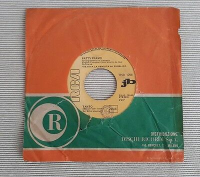 Patty Bravo/david Bowie-Disco 45 Giri-Ed.speciale Jukebox Iternational Shipping
