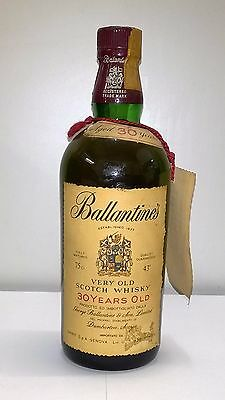 SCOTCH WHISKY BALLANTINES 30 YEARS OLD [Limited 1200 bottles 1977]