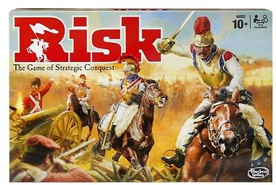New Board Game Risk Family Friends Learning Strategies Games Fun Play Battles