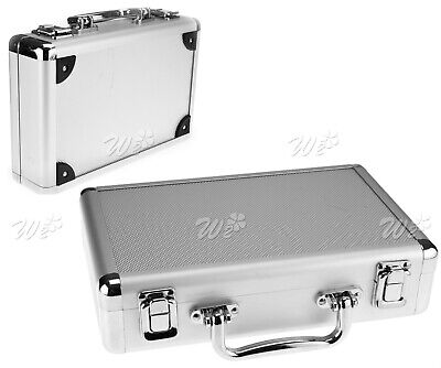 Flight Briefcase Holder Aluminum Tool Box Case With Foam Backing