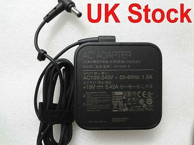 Adapter Charger Power for laptop ASUS X550C black  UK