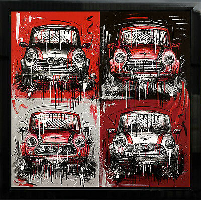 Painting The Town Red Limited Edition Framed Print by Artist Samantha Ellis!