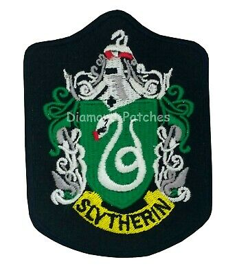 Slytherin house badge  harry potter iron on patch badge large