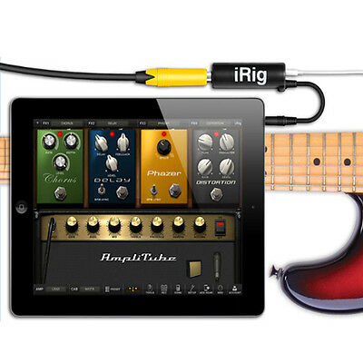 New Guitar Interface iRig Converter replacement guitar For iPhone ipod ipad