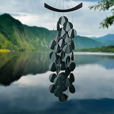Evergreen Woodstock Moonlight Waves Wind Chime Garden Mobile