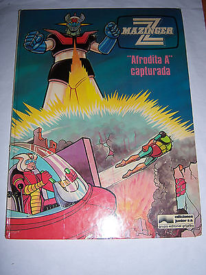 Comic Mazinger Z Afrodita A Capturada Ediciones Junior S.a 1978