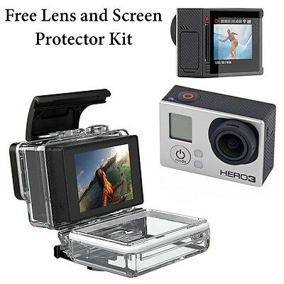 LCD BacPac Display Viewer Monitor Screen+Back Door Case for GoPro HD Hero 3 Only