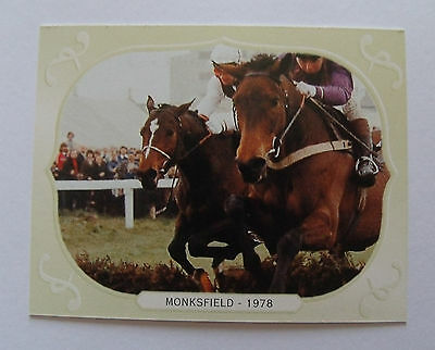 G D S Horse Racing Collectors Card Cheltenham Winner 1978 Monksfield