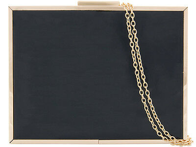 Patent Elegant Design Fashion Style Hard Compacts Evening Party Clutch Bag 10011