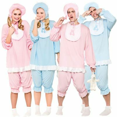 Adult Big Cute Cry Baby Fancy Dress Costume Mens Ladies Outfit Sleepsuit Romper