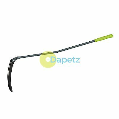 Heavy Duty Scythette 1100mm Strong Carbon Steel Blade Long Grass Weed Remover