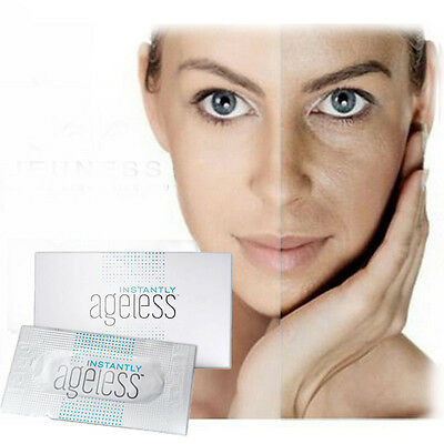 50 sachets Jeunesse Instantly Ageless Anti wrinkle eye and face cream anti aging