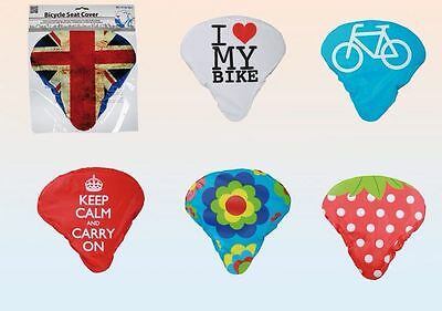Bicycle Seat Covers Nylon Saddle Covers Boys Girls Bike Retro Seat Covers
