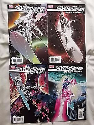 SILVER SURFER In Thy Name 1-4 MARVEL comics COMPLETE SET