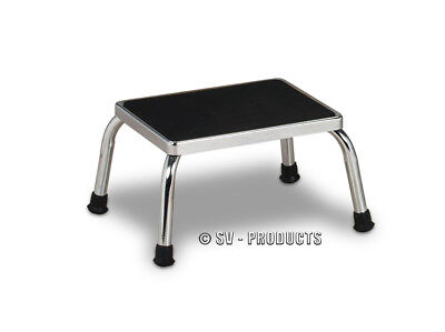 Physician Exam Room Step Foot Stool Chrome Stepping - 240