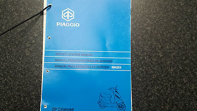 Piaggio Zip 50 Catalyzed Service Manual