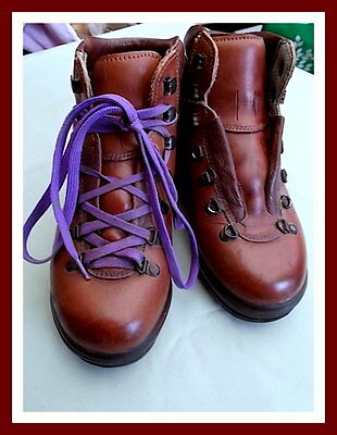 SCARPA : Leather Hiking / Walking Boots : Made In Itay : VGC - Size EU36 Womens