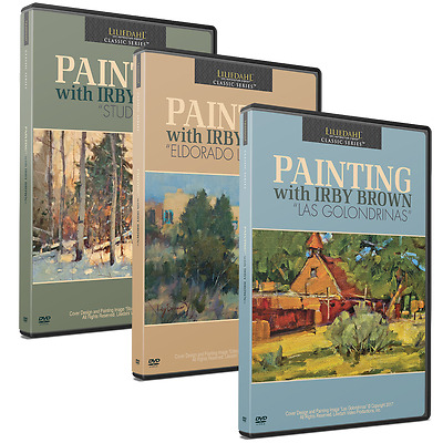 IRBY BROWN SPECIAL COMBO OFFER FOR $167 - Art Instruction DVD