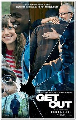 GET OUT - 2017 - Original D/S 27x40 ADVANCE Movie Poster - ALLISON WILLIAMS