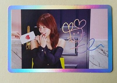 Twice SIGNAL 4th Mini Album Official Special Photocard - Momo