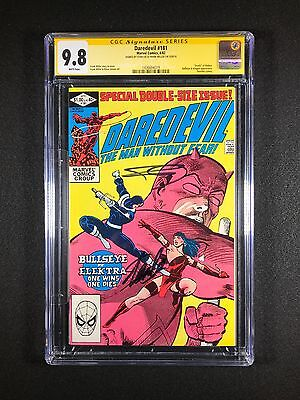 Daredevil #181 CGC SS 9.8 (1982) - Signed by Stan Lee & Frank Miller