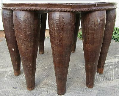 Antique Early 20Th Century Tribal Art 10 Leg Nigerian Nupe Stool